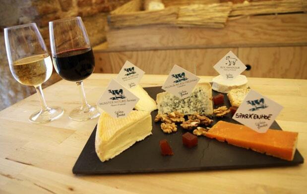 Cata quesos de montaña Lechera de Burdeos