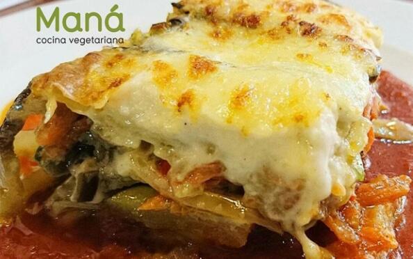 Vegetariano Maná: cena a la carta