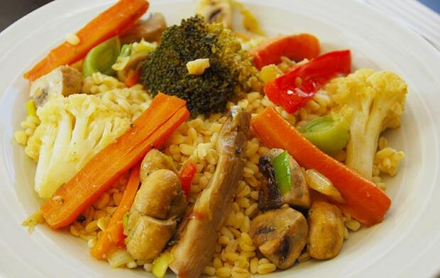Cena degustación 7 platos vegetarianos