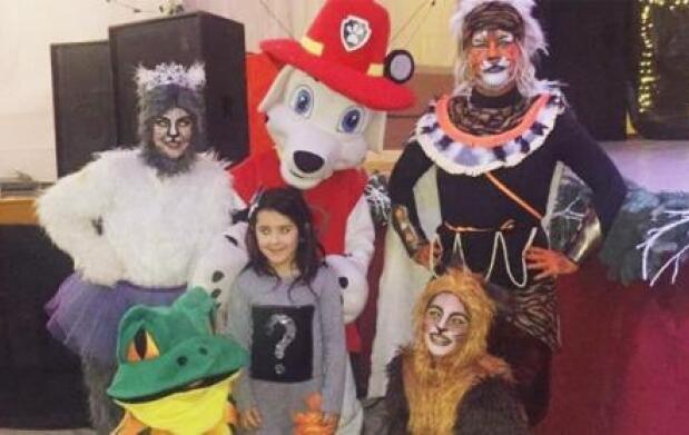 Marsall y sus amigos en Beniel