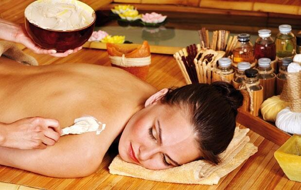 Peeling corporal  y masaje relajante
