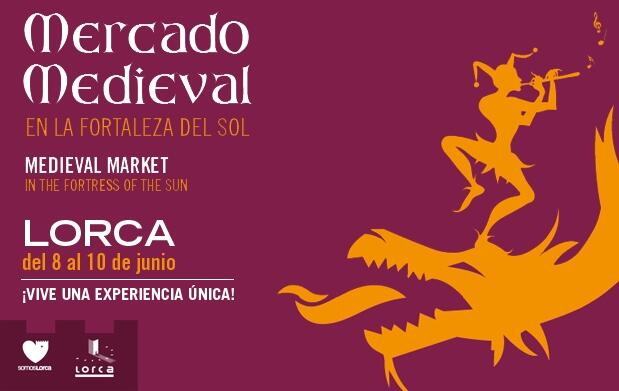 Mercado medieval en la Fortaleza del Sol