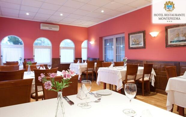 Completo Menú en el Hotel Montepiedra