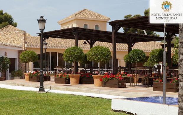 Menú especial en el Hotel Montepiedra