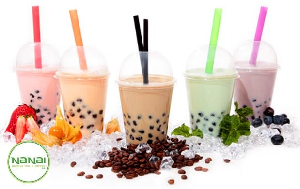 Bubble Tea la bebida de moda + café latte