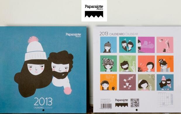 Consigue el Calendario 2013 de Pararajote