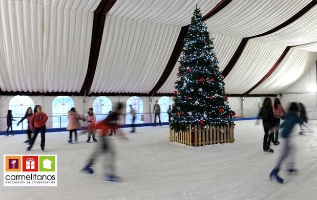1 hora de patinaje sobre hielo + alquiler