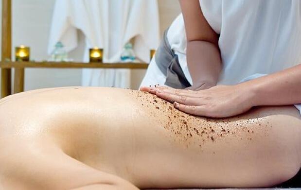 2 peeling corporal + masaje + hidratación