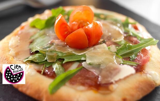 3 pizzitas gourmet por 2€ en Cartagena
