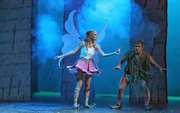 Pulgarcita, el musical, en Águilas
