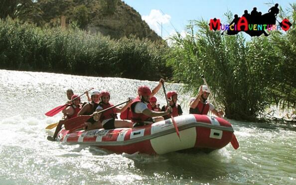 ¡Disfruta! Rafting por el Río Segura