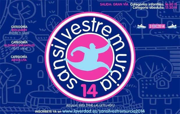 100 dorsales San Silvestre Murcia