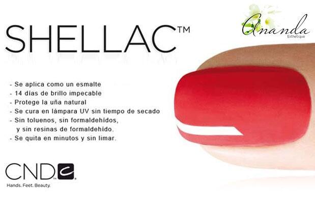 2 manicuras permanentes con Shellac CND