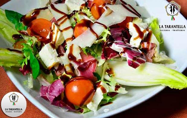 Menú Italiano para dos en La Tarantella