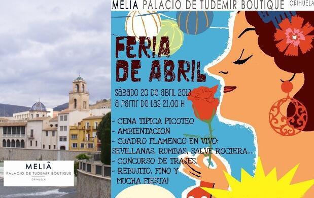 Cena, Copa Premium y Fiesta Feria Abril