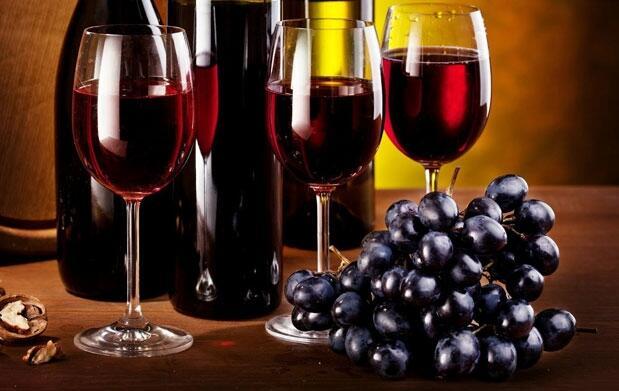 Diferencia los tipos de uva del vino tinto