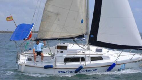 Paseo en velero por el Mar Menor