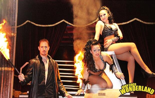 Molina: Circo Wonderland 16-18 mayo