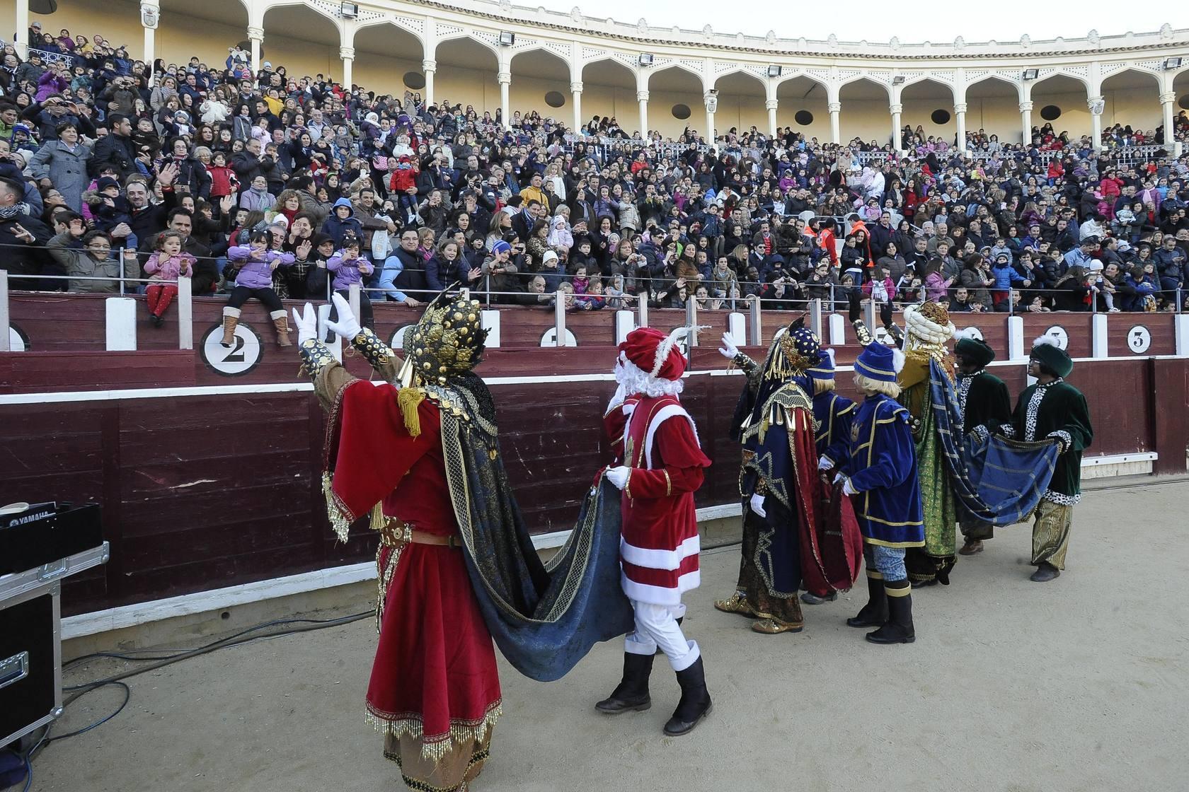 Magia e ilusión en la Cabalgata de Reyes de Albacete
