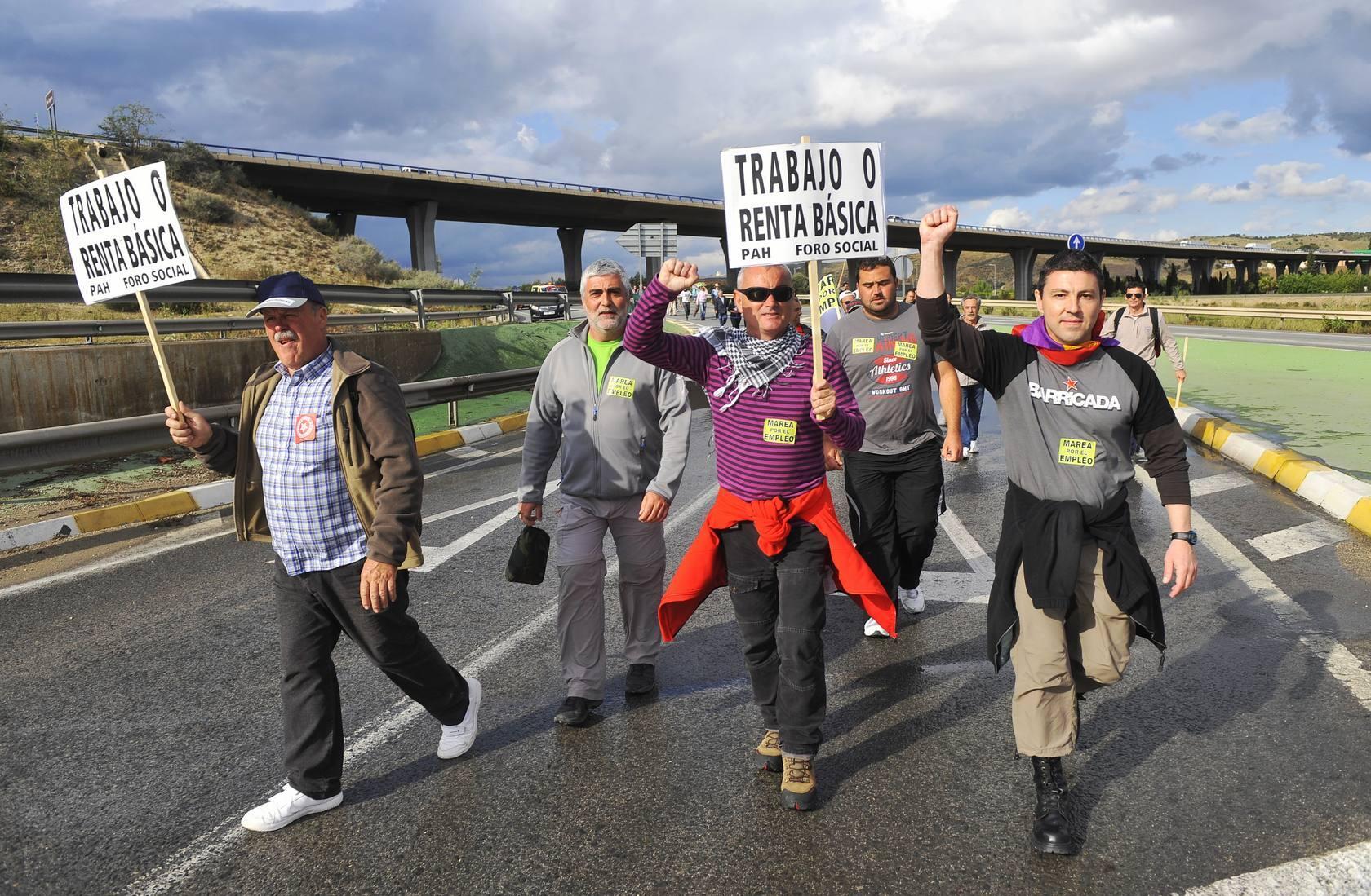 II Marcha contra el Paro, la Precariedad y los Recortes de la Región