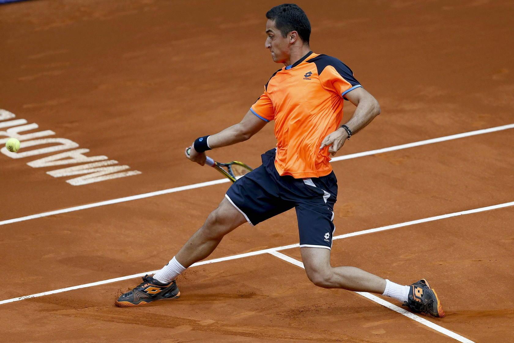 Almagro en el Open de Tenis de Madrid 2013
