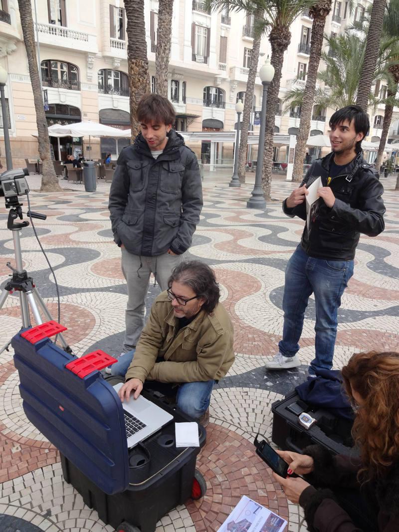 'Making off' de los carteles del X Festival de Cine de Alicante