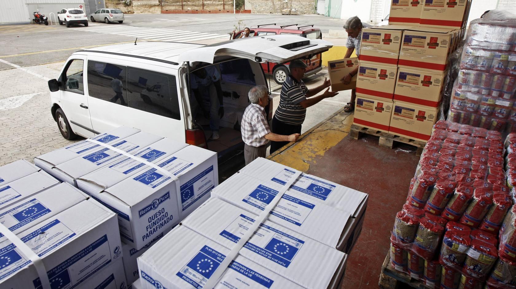 La provincia recibe ayuda masiva de alimentos de la UE