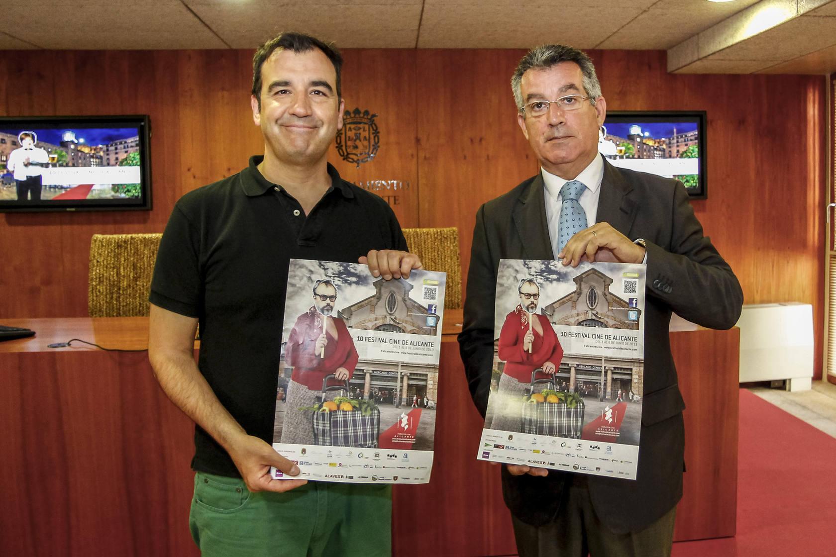 Presentación del ciclo de Cine Solidario enmarcado en el X Festival de Cine de Alicante