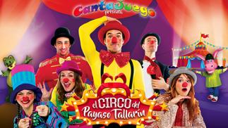 Cantajuego: el circo del payaso Tallarín (9 jul)