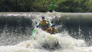 ¡Vive la aventura del Rafting + Roller Ball + desayuno picnic!