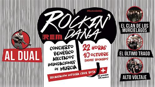 Entradas concierto benéfico Rockin'Dana (10 oct)