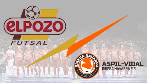 Entradas ElPozo Murcia vs Aspil Vidal Rivera Navarra (18 may)