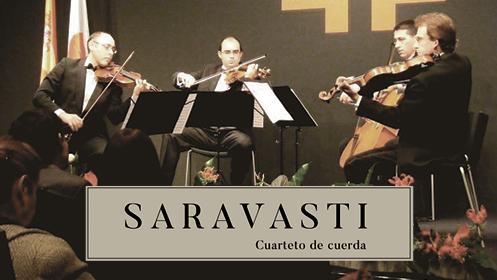 Cuarteto Saravasti & Friends: concierto extraordinario de Navidad (23 dic)
