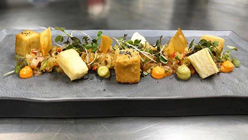 Menú Promesas de la cocina Región de Murcia: AlmaMater