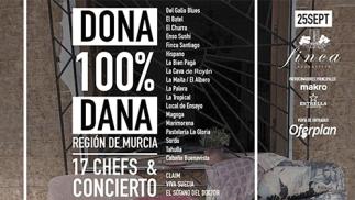 Cena solidaria 17 Chefs por los damnificados de la Dana