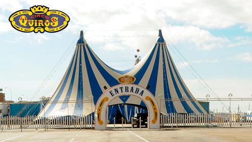 Entradas preferentes para el Circo Quirós en Cartagena