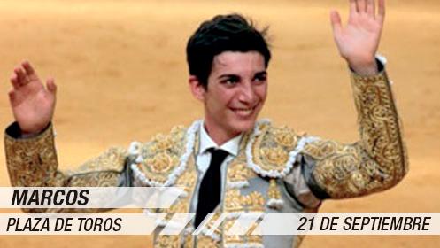 Novillada y debut con caballos: Marcos, Parrita y Jose Mª Trigueros (21 sep)