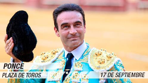 Feria Taurina 2019: Enrique Ponce, Manzanares y Cayetano (17 sep)