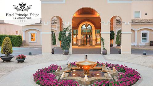 Oferta último minuto: Escapada 5* al hotel Príncipe Felipe