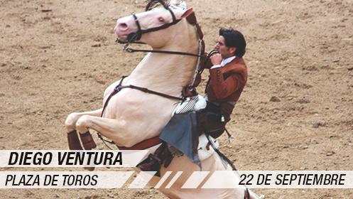 Feria Taurina 2019: rejones Andy Cartagena, Sergio Galán y Diego Ventura (22 sep)
