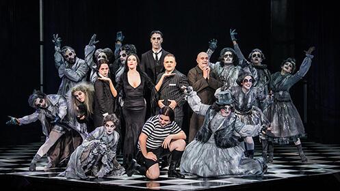 La Familia Addams, una comedia musical de Broadway (31 may, 2, 5 y 6 jun)