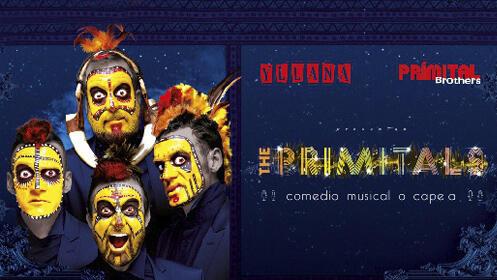 Disfruta The Primitals, una hilarante comedia a capela (19 y 20 oct.)