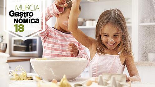 Menú infantil y ludoteca en Murcia Gastronómica