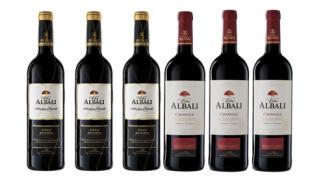 3 Botellas Viña Albali Gran Reserva + 3 Botellas Viña Albali Crianza D.O.P Valdepeñas
