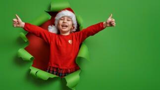 Escuela de Navidad niños desde 4 meses hasta 7 años
