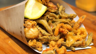 Menú fritura especial en Cocedero de Marisco Neptuno