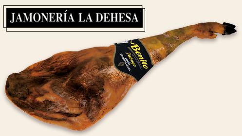 Envío incluido: Jamón Benito etiqueta negra de Jamonería La Dehesa