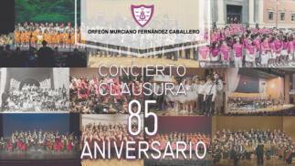Entradas Orfeón Murciano: concierto 85 aniversario (26 jun)