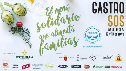GastroSOS: El menú solidario que alimenta familias (12 y 13 may)