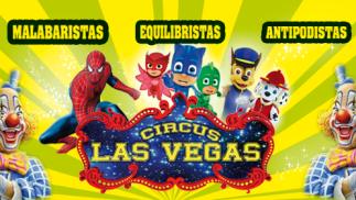 Circus Las Vegas en Los Alcázares: 1 adulto + 1 niño